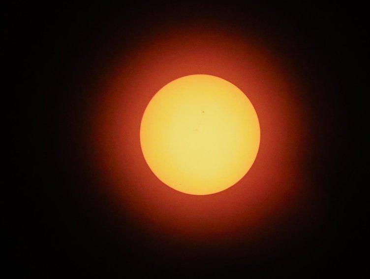 Güneş tutulması gerçekleşti