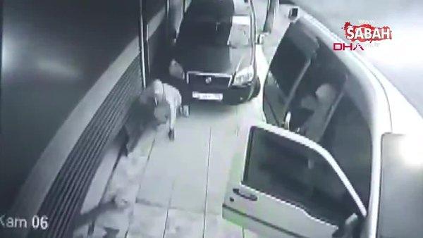 İstanbul Güngören'deki 'sürüngen hırsızlar' kamerada
