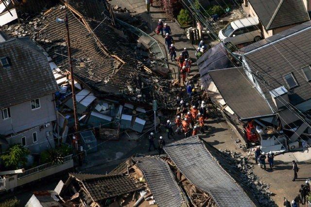 Japonya'da bir gün arayla ikinci deprem şoku: 21 Ölü