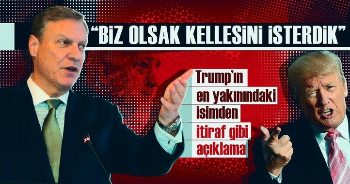 Son dakika: Trump'ın ABD'li danışmanı Malloch'tan itiraf gibi açıklama!