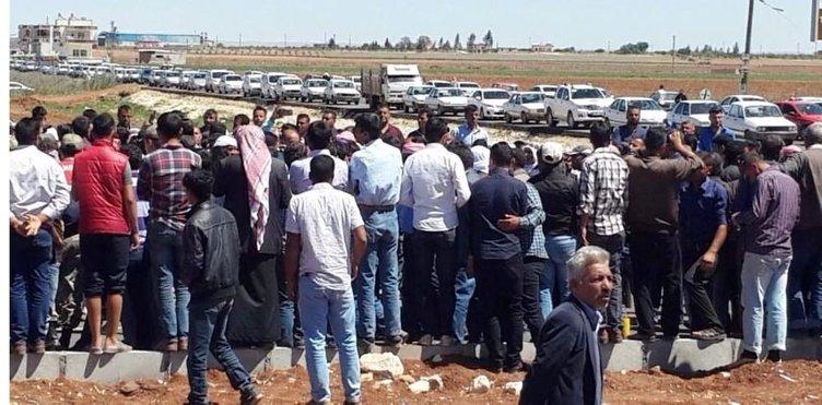 Şanlıurfa'da çiftçiler terör estirdi!
