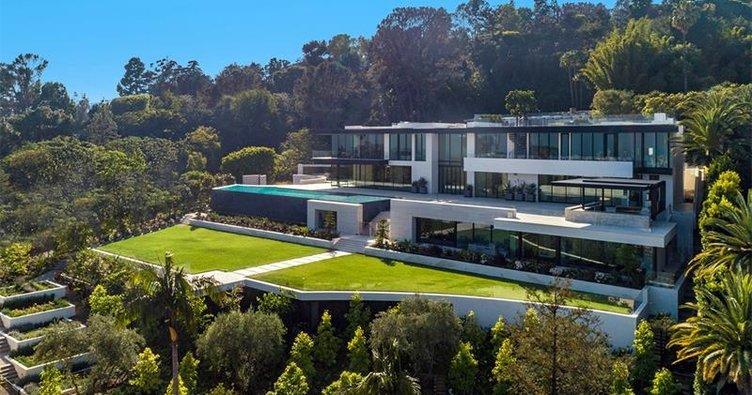 Dünyanın En Pahalı Evi bel air Los Angeles 180 milyon dolar ile ilgili görsel sonucu