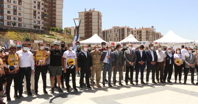 Şırnak'ta Şehri-Nuh Bisiklet Festivali başladı