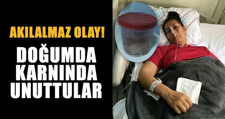 Son dakika: İzmir'de doğumda karnında gazlı bez unutulan kadın ameliyata alındı