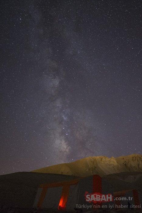 Erciyes Dağı'nda büyük görsel şölen!