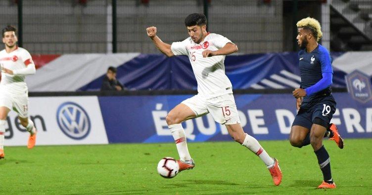 Türkiye Ümit Milli Takımı, Fransa'ya 1-0 yenildi