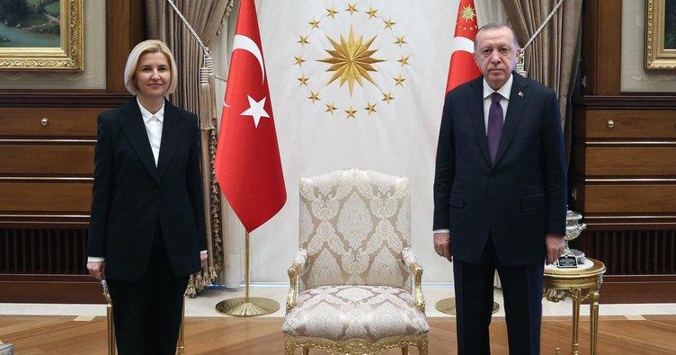 Başkan Erdoğan, Gagavuz Özerk Yeri Başkanı Vlah'ı kabul etti