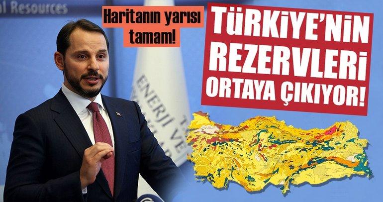 Türkiye'nin maden rezervi ortaya çıkıyor!