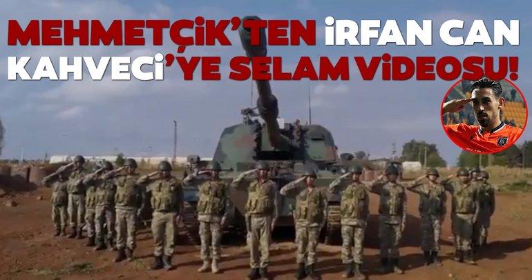 Milli Savunma Bakanlığı'ndan Başakşehirli İrfan Can Kahveci'ye duygulandıran 'selam' videosu!