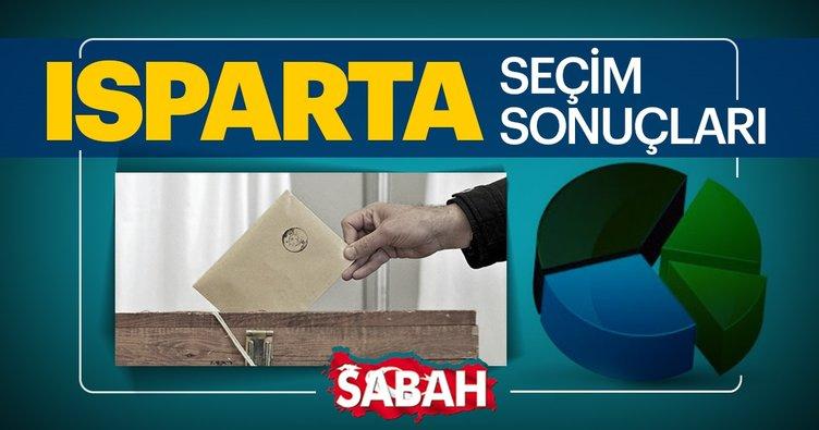 Isparta yerel seçim sonuçları 2019 burada olacak! 31 Mart Isparta seçim sonucu ve oy oranları sabah.com.tr'de!