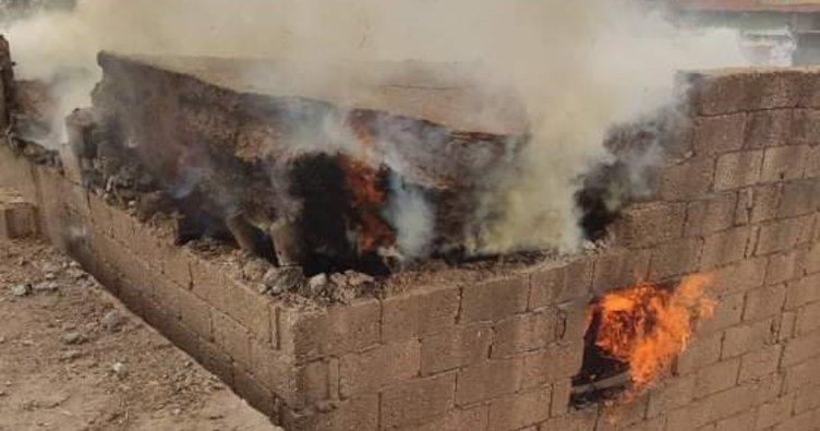 Şanlıurfa'da yanan evde 1 kişi yaralandı
