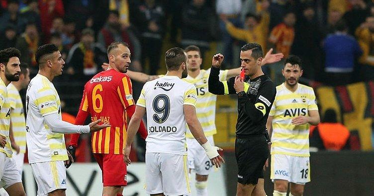 Son dakika: Soldado'ya 1 maç ceza