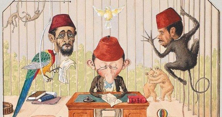 Osmanlı'da Karikatür Çizen Bir Devlet Adamı: Yusuf...
