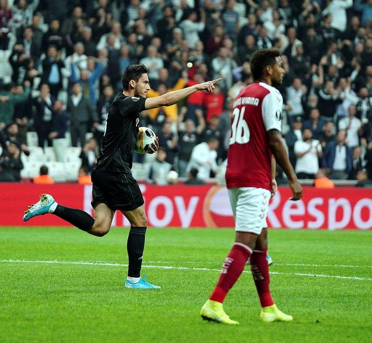 Braga - Beşiktaş maçı öncesi Abdullah Avcı'dan şok karar!