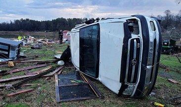 ABD'de fırtınalar yıktı geçti: 11 ölü