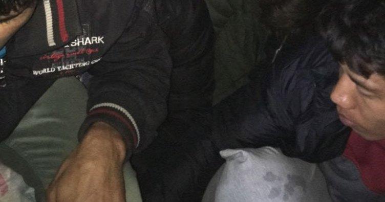 Edirne'de 21 kaçak ve 1 organizatör yakalandı