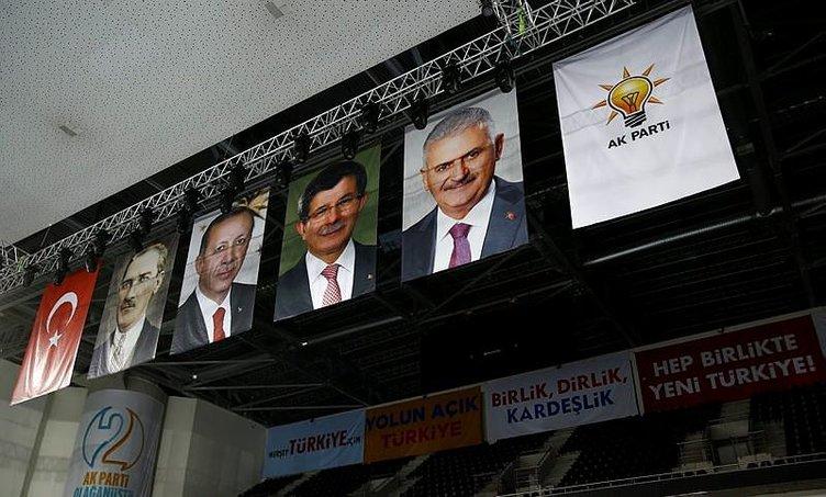 Ak Parti tarihi kongreye hazır