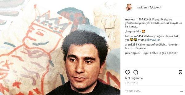 Ünlülerin Instagram paylaşımları (22.01.2018)