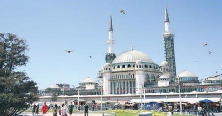 Taksim Camii Ramazan'da açılacak