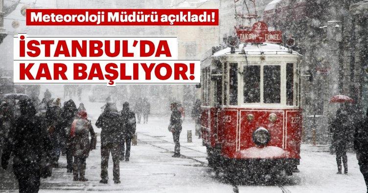 İstanbullular dikkat! Meteoroloji yeni hava durumu raporu yayınladı! İstanbul'a kar geliyor!