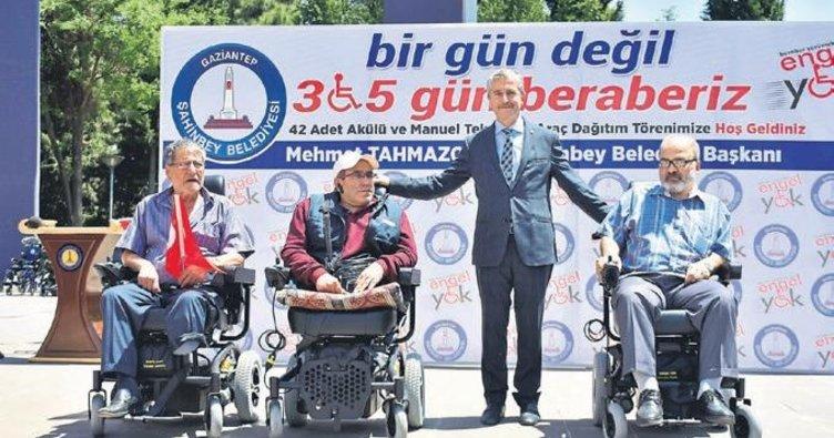 Gaziantep'te anlamlı buluşma