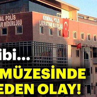 Polis Kriminal Laborotuvarı'ndaki tarihi silahlar, imitasyonlarıyla değiştirilmiş