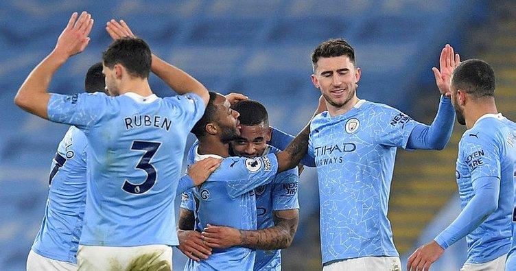 Manchester City üst üste 21. galibiyetini aldı!
