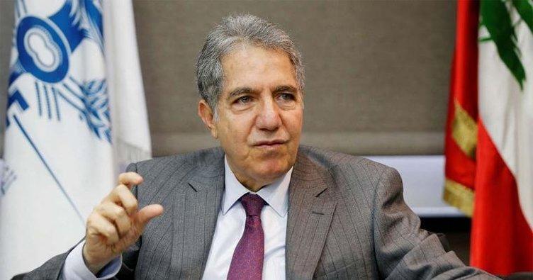 Lübnan'da istifa kervanına Maliye Bakanı Ghazig Wazni'de katıldı