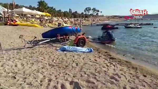 Foça'da tekne faciası: 4 ölü   Video