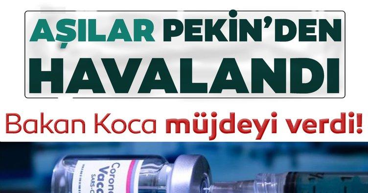 SON DAKİKA HABERİ: Sağlık Bakanı Fahrettin Koca açıkladı! Koronavirüs aşıları yola çıktı! İşte ilk görüntüler