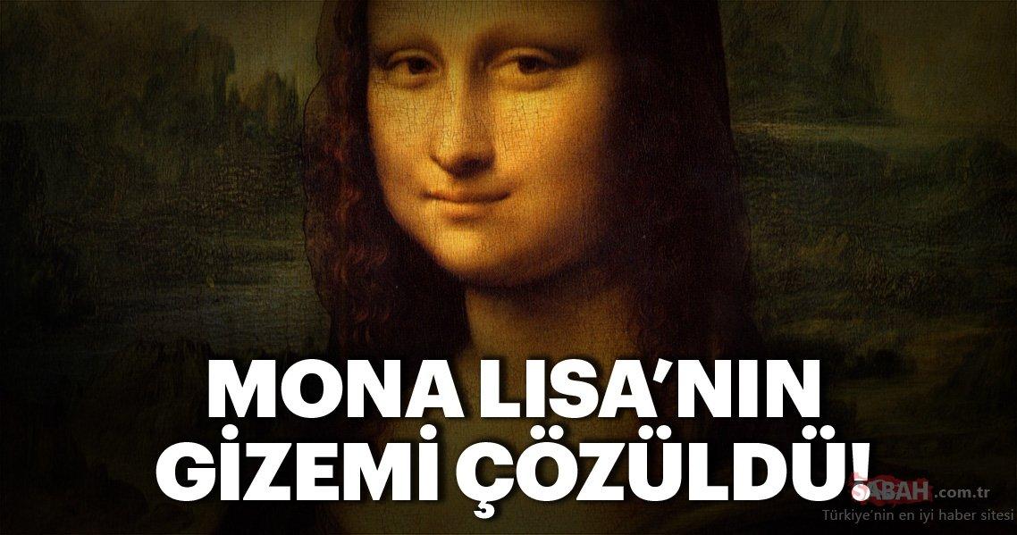 Mona Lisa tablosunun büyük sırrı çözüldü! İşte Mona Lisa'nın