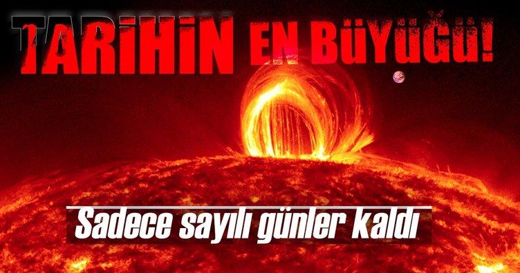 Tarihin en büyük güneş tutulması: Sadece günler kaldı