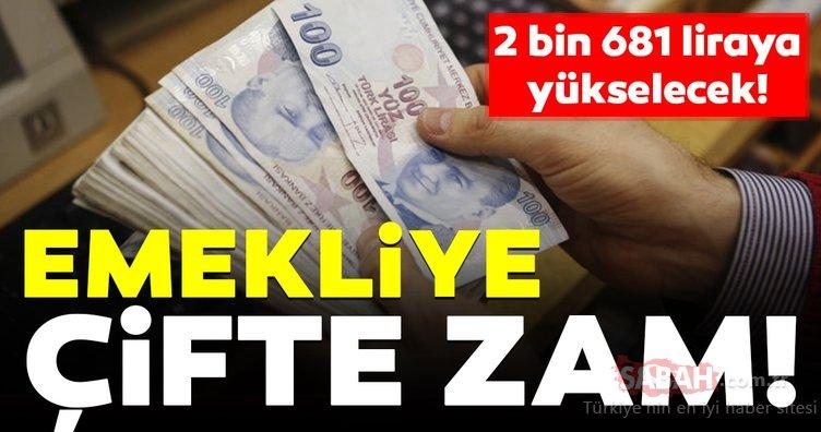 Emekli için 2 bin 681 lira! En düşük emekli maaşı ne kadar olacak?
