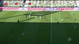 GOL | Werder Bremen 0-2 Hertha Berlin