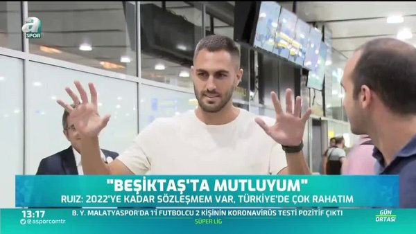 Victor Ruiz: Beşiktaş'ta mutluyum