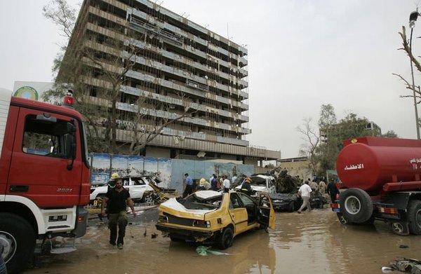 Bağdat'ta kanlı pazar