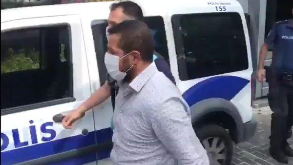 Yemeğe gelen vatandaşlar şikayet edince... Değnekçiye Çamlıca Tepesi'nde gözaltı   Video