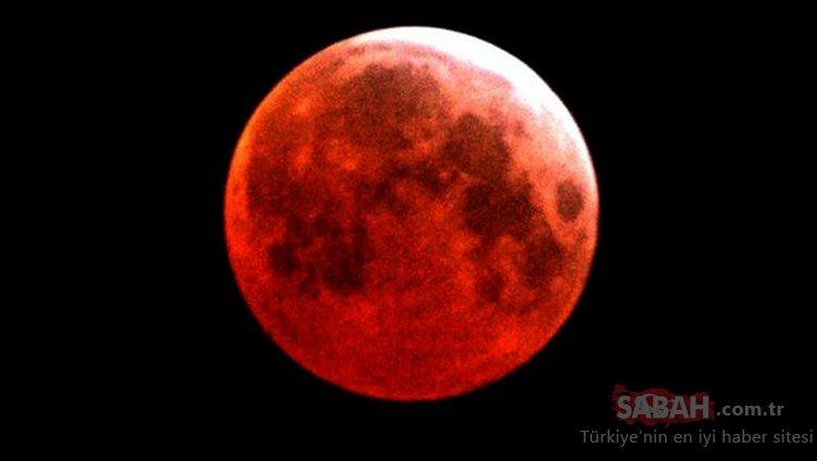 Kanlı Ay Tutulması ne zaman saat kaçta başlayacak? 2018 Kanlı ay tutulması Türkiye'den görülebilecek mi?