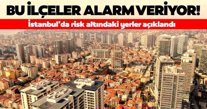İstanbul'da risk altındaki ilçeler açıklandı! 7,5 ve üzeri olası bir depremde…