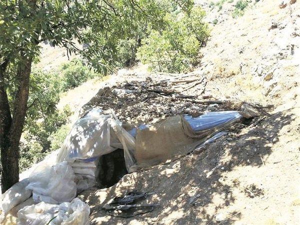 İşte PKK tünelleri