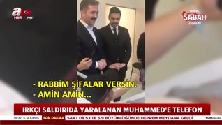 Başkan Erdoğan'dan geçmiş olsun telefonu   Video