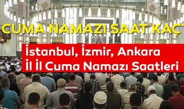 Cuma namazı saat kaçta kılınacak? İstanbul, Ankara, İzmir İl il cuma namazı saatleri - Diyanet Cuma hutbesi 24 Mayıs