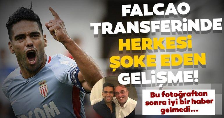 Fransa'dan Galatasaray'ın Falcao transferi için flaş iddia!