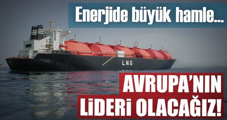 Türkiye LNG'de kapasitesini hızla artıracak