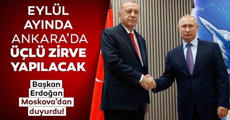 Erdoğan- Putin görüşmesi sonrası ortak açıklamalar