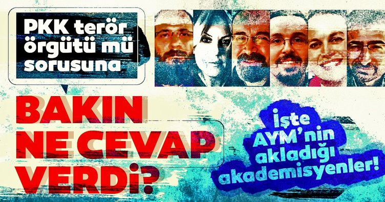 AYM'nin akladığı kişiler PKK'ya terör örgütü demedi!