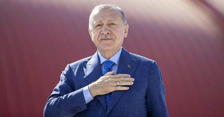 Çılgın projede tarihi gün! Başkan Erdoğan: Kanal İstanbul'a İstanbul'un geleceğini kurtarma projesi olarak bakıyoruz