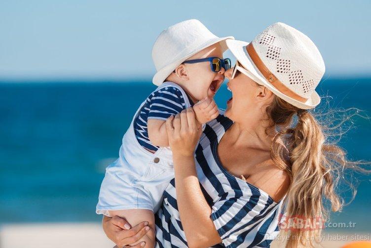 D vitamini çok önemli ancak… Bebeğinizi güneşe çıkarırken bu 3 kurala dikkat!