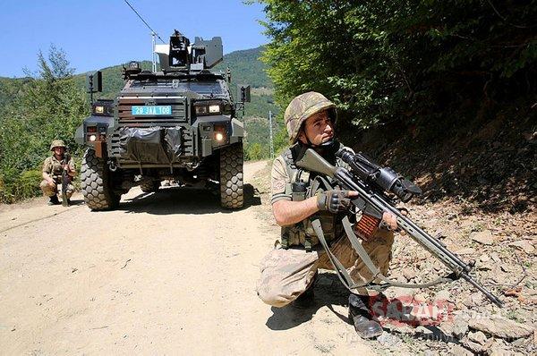 Karadeniz'de, PKK'nın kâbusu JÖH timleri iz sürüyor
