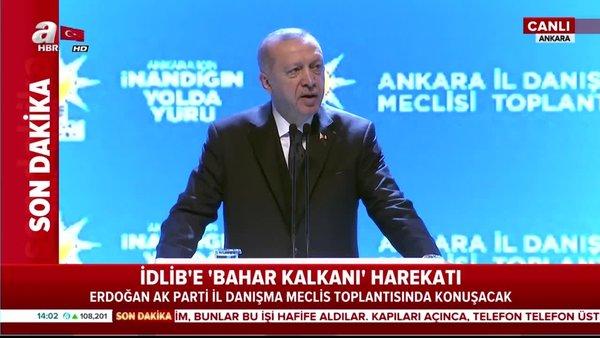 Başkan Erdoğan'dan AK Parti il danışma meclis toplantısında önemli açıklamalar | Video